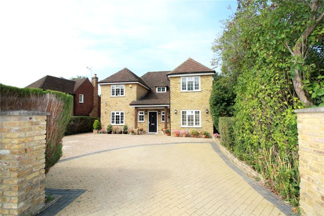 Thumbnail Detached house to rent in Crispin Way, Farnham Common, Slough