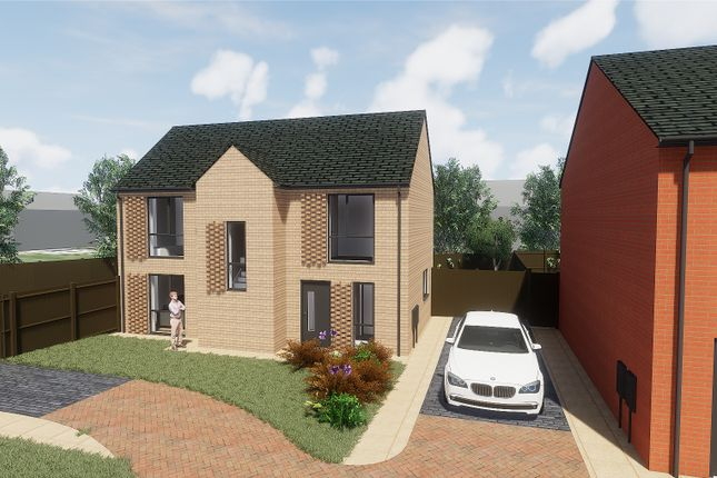 Thumbnail Detached house for sale in Barleyfield, Heswall, Wirral