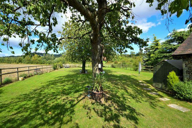 ## Rear Garden.. of West Barn, Great Cossington Farm, Aylesford ME20