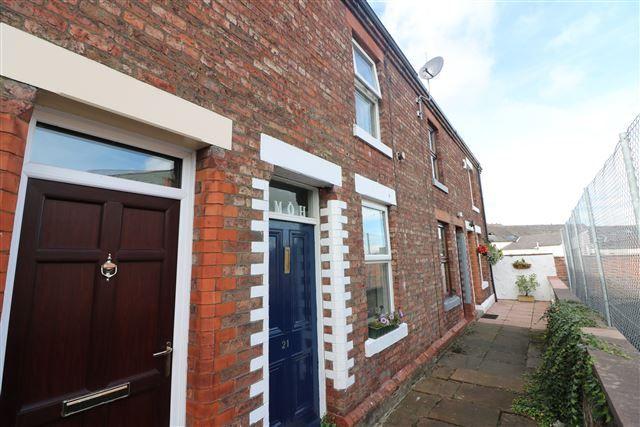 Thumbnail Terraced house for sale in Romanway, Carlisle, Cumbria