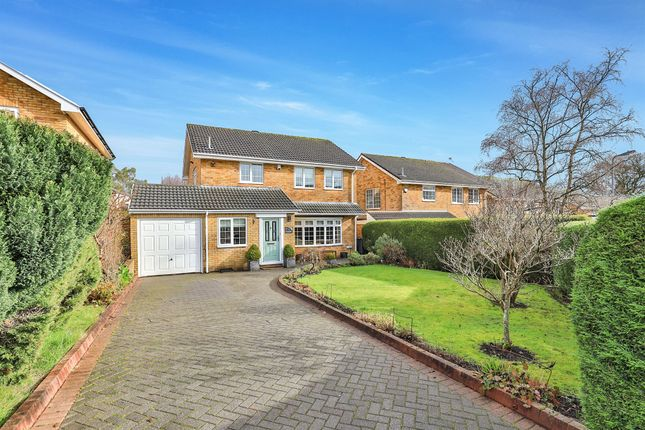 Thumbnail Detached house for sale in Ivydale, Lisvane, Cardiff
