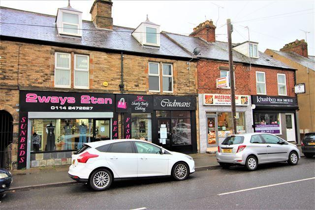 Thumbnail Flat to rent in High Street, Mosborough, Sheffield