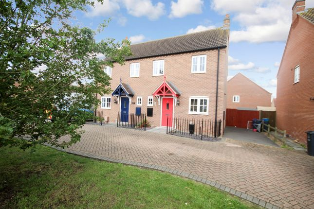 Thumbnail Semi-detached house for sale in Crowder Close, Bardney, Bardney, Lincolnshire
