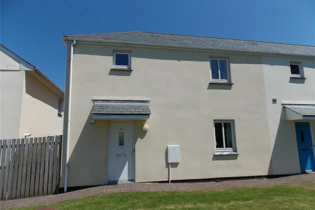 Thumbnail Semi-detached house for sale in Gweal Pawl, Redruth