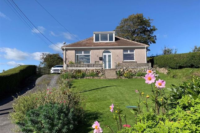 Thumbnail Detached bungalow for sale in Five Roads, Llanelli