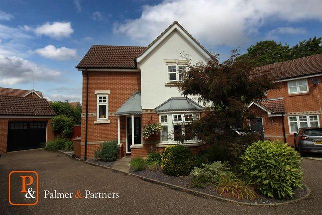 3 bed detached house for sale in Hood Drive, Great Blakenham, Ipswich IP6