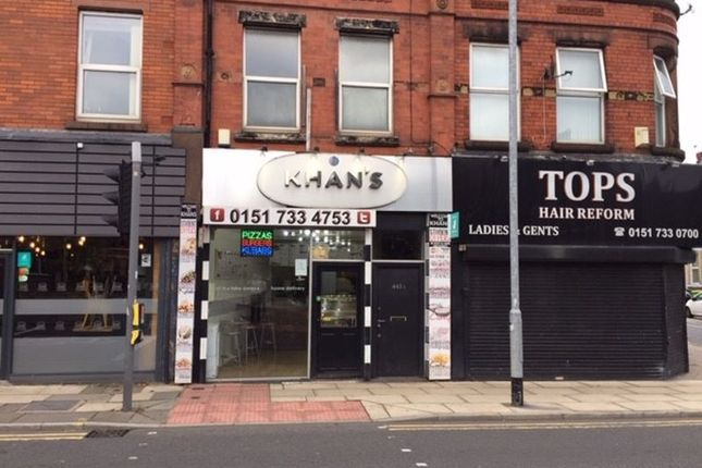 Thumbnail Commercial property for sale in Smithdown Road, Liverpool