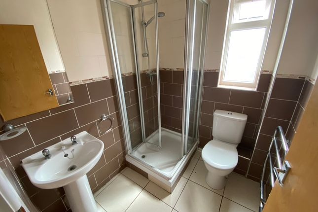 Shower Room of Edric House, The Rushes, Loughborough LE11