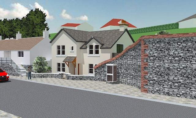 Thumbnail Detached house for sale in Building Plot, St Ninians Place, Portpatrick