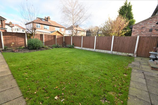 Rear Garden of Norcott Avenue, Stockton Heath, Warrington WA4
