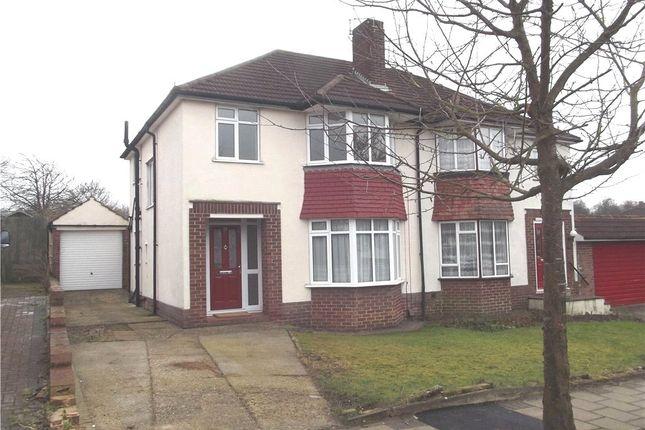 Thumbnail Semi-detached house to rent in Wilmington Avenue, Orpington, Kent