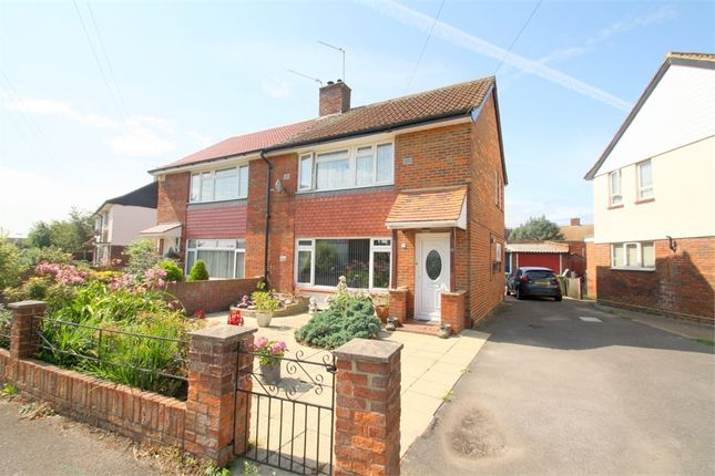 Thumbnail Semi-detached house for sale in St Annes Avenue, Stanwell, Staines-Upon-Thames, Surrey