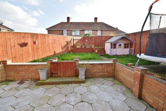 Rear Garden of Sandford Close, Beechwood, Middlesbrough TS4