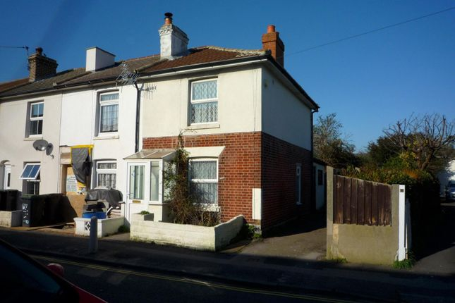 Thumbnail End terrace house to rent in Clayhall Road, Gosport