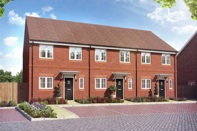"""Thumbnail Terraced house for sale in """"The Gosfield"""" at Millars Close, Main Street, Grendon Underwood, Aylesbury"""