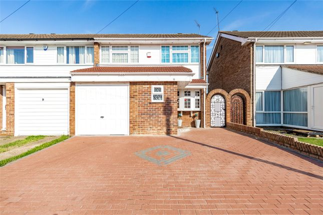Thumbnail Semi-detached house for sale in West Malling Way, Hornchurch