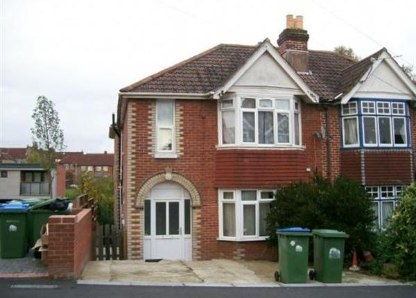 Thumbnail Semi-detached house to rent in Sridar Road, Available From 1st July 2018, Southampton