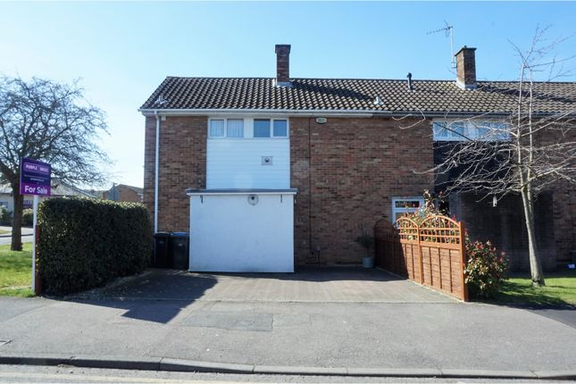Thumbnail End terrace house for sale in Purford Green, Harlow