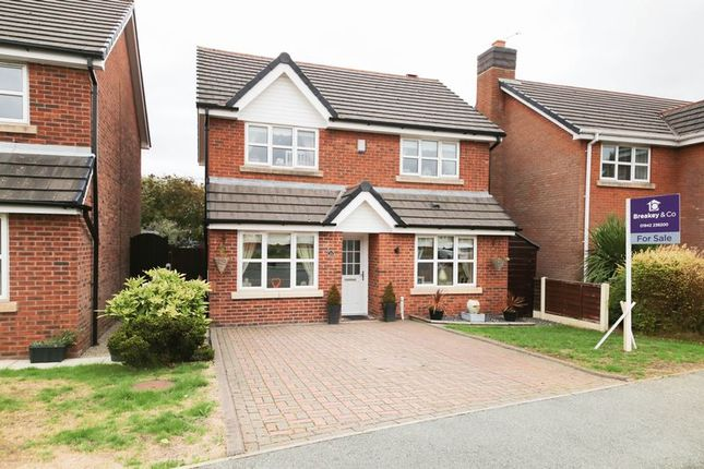Thumbnail Detached house for sale in Foxdene Grove, Winstanley, Wigan