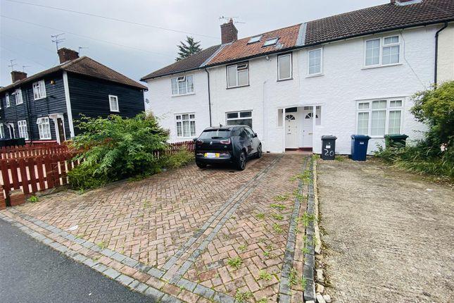 Thumbnail Terraced house to rent in Goldbeaters Grove, Burnt Oak, Edgware