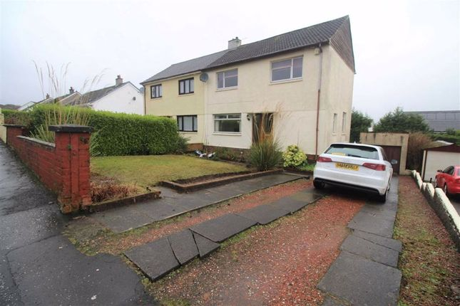 Thumbnail Semi-detached house for sale in Moorfoot Drive, Gourock, Renfrewshire