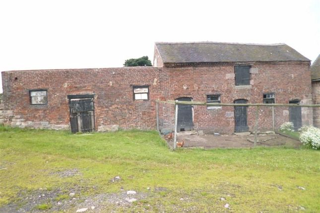 Commercial property for sale in Lower Farm, Consall Lane, Consall, Staffordshire