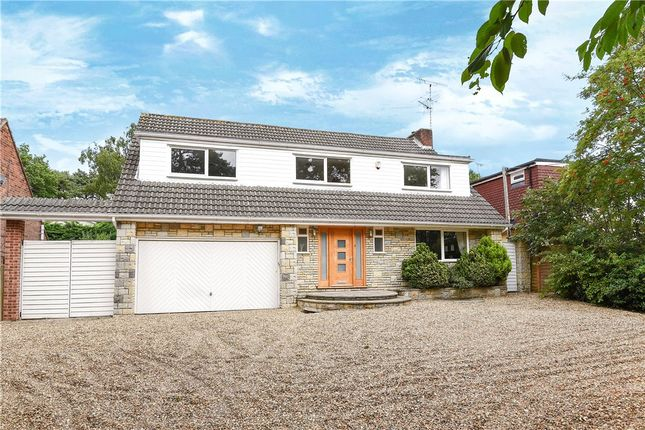 Thumbnail Detached house for sale in Yeovil Road, College Town, Sandhurst