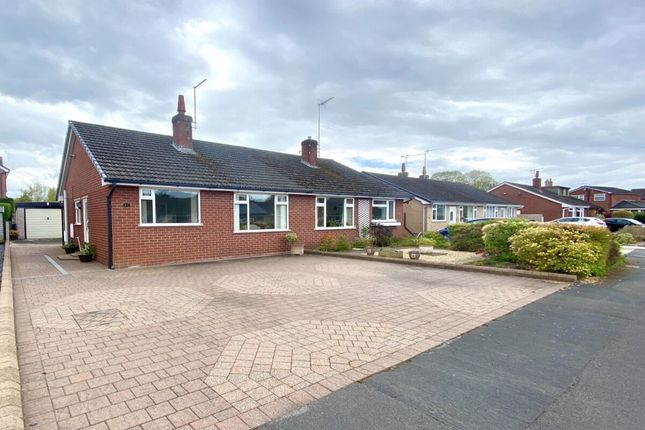 Thumbnail Bungalow for sale in Mount Close, Nantwich