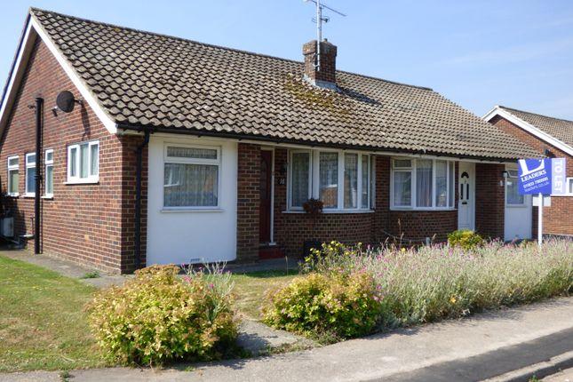 Thumbnail Bungalow to rent in Garden Close, Angmering, Littlehampton