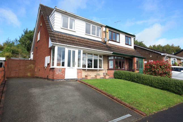 Thumbnail Semi-detached house for sale in Zodiac Drive, Packmoor, Stoke-On-Trent