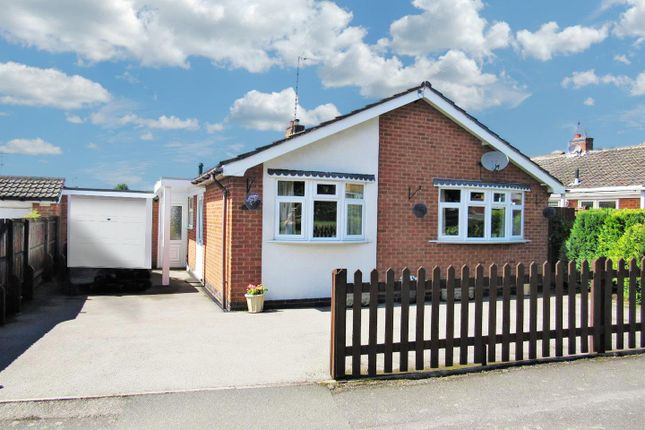 Thumbnail Detached bungalow for sale in Hill View Drive, Cosby, Leicester