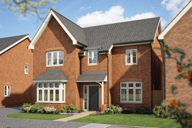 "Thumbnail Detached house for sale in ""The Birch "" at Silverwoods Way, Kidderminster"