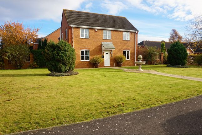 Thumbnail Detached house for sale in Wheatfields, Spalding