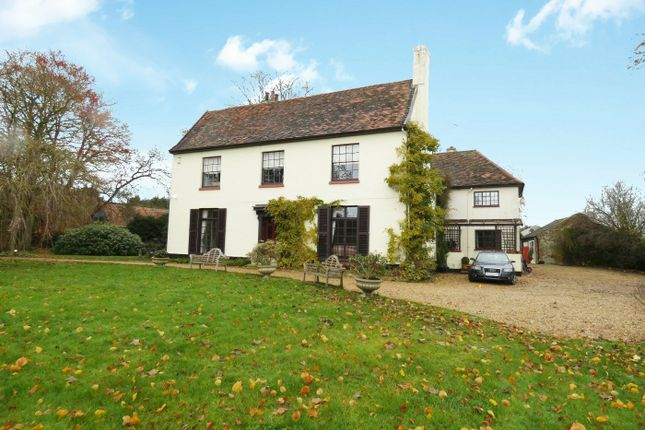 Thumbnail Detached house for sale in Bramford Road, Great Blakenham, Ipswich, Suffolk