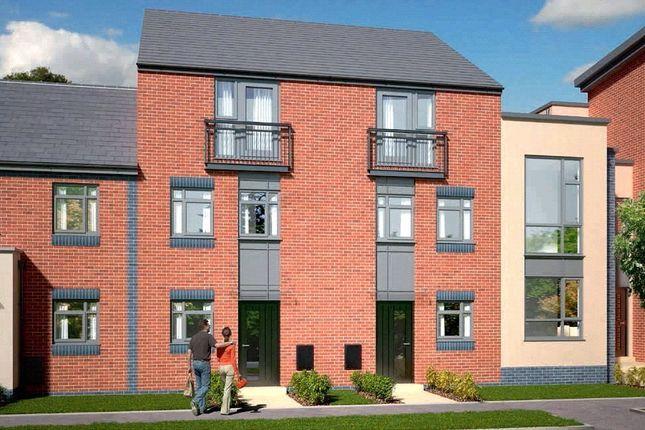 Thumbnail Town house for sale in The Dawlish - Plot 413, Johnsons Wharf, Leek Road, Hanley, Stoke On Trent