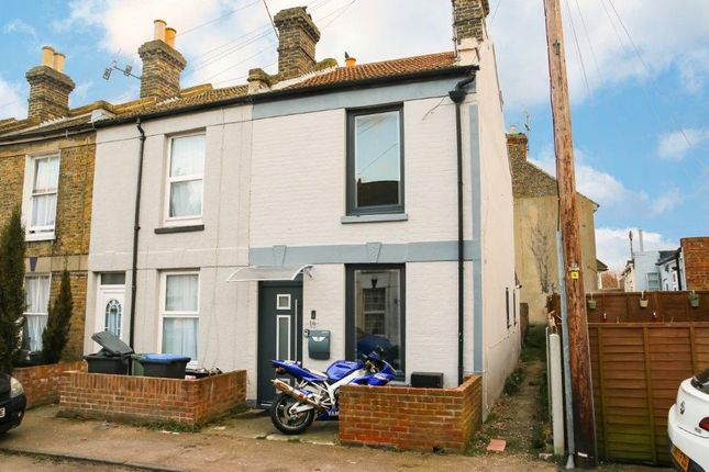 Thumbnail End terrace house for sale in Claremont Gardens, Ramsgate