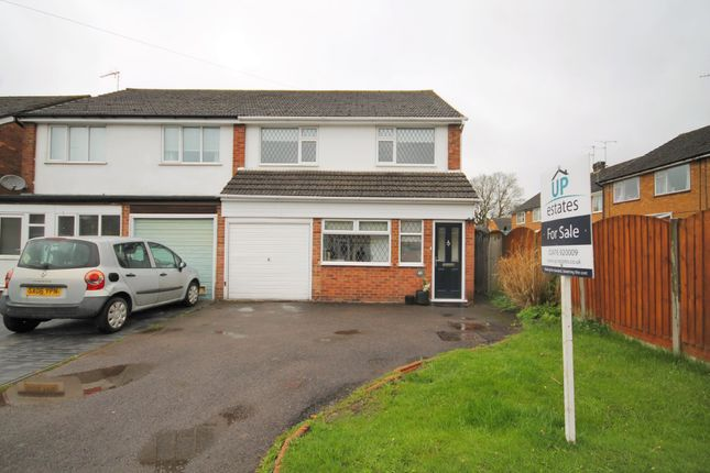 Thumbnail Semi-detached house for sale in Craven Avenue, Binley Woods, Coventry