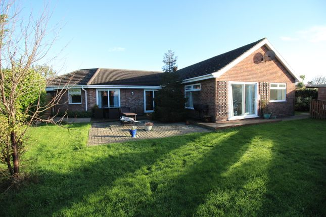 Thumbnail Detached bungalow for sale in The Close, Hemsby, Great Yarmouth