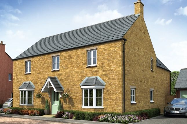 "Thumbnail Detached house for sale in ""The Longleet"" at Towcester Road, Old Stratford, Milton Keynes"