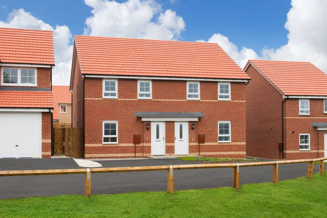"Thumbnail Terraced house for sale in ""Folkestone"" at Cobblers Lane, Pontefract"