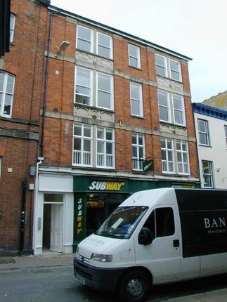 Thumbnail 1 bed flat to rent in Cross Street, Barnstaple