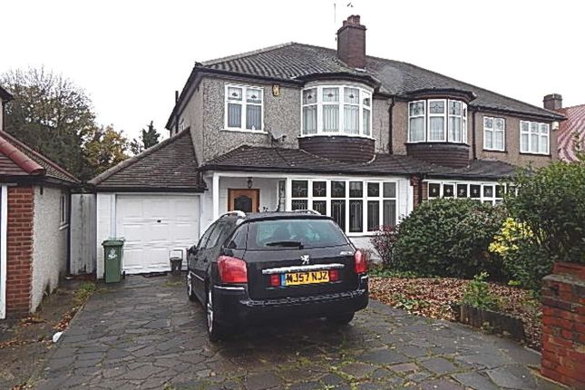 Thumbnail Semi-detached house to rent in Faraday Avenue, Sidcup