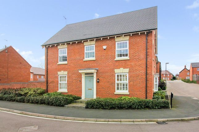 Thumbnail Detached house for sale in Tivey Way, Melbourne, Derbyshire