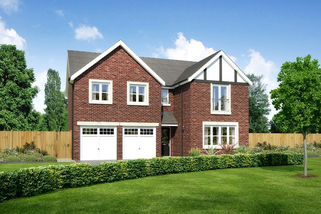"""Thumbnail Detached house for sale in """"Malborough"""" at Moorfields, Willaston, Nantwich"""