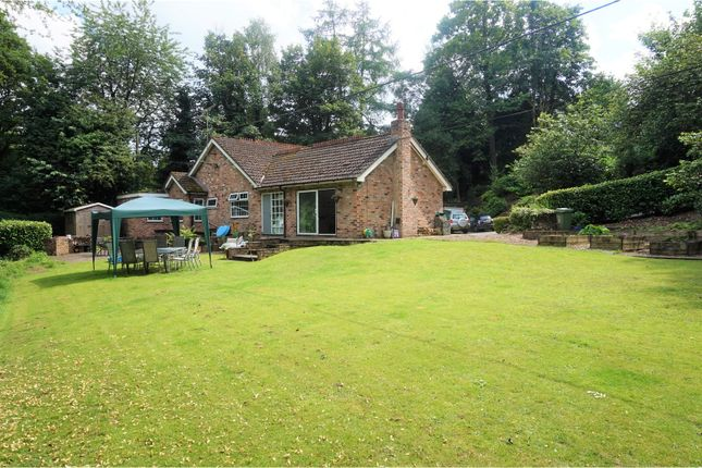 Thumbnail Detached bungalow for sale in Mill Hill Hollow, Poynton