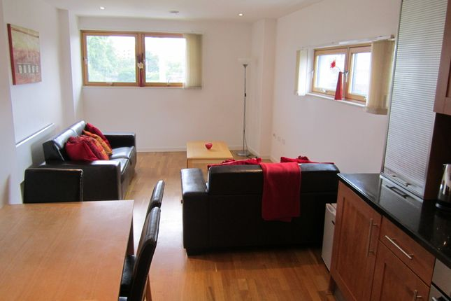 Thumbnail Flat to rent in Crown Point Road, Leeds