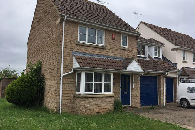 Thumbnail Link-detached house to rent in Broadoak Rd, Langford, Bristol