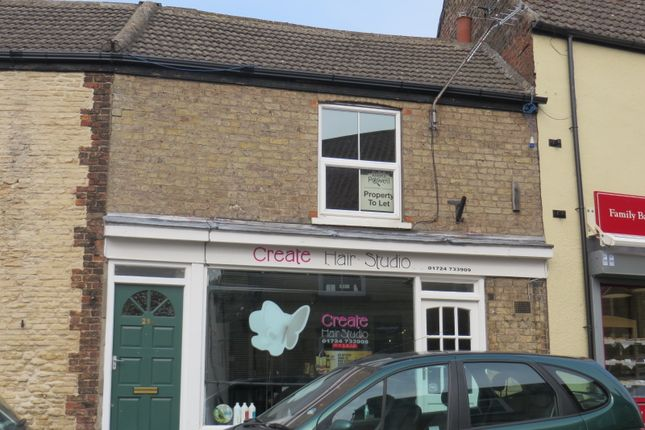 Thumbnail Flat to rent in Market Street, Scunthorpe