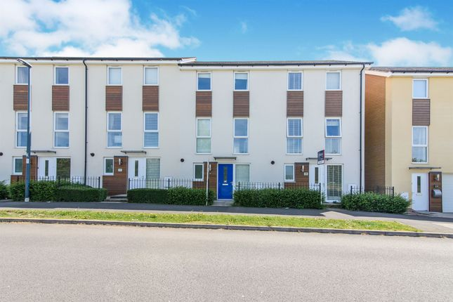 Thumbnail Town house for sale in Over Drive, Patchway, Bristol