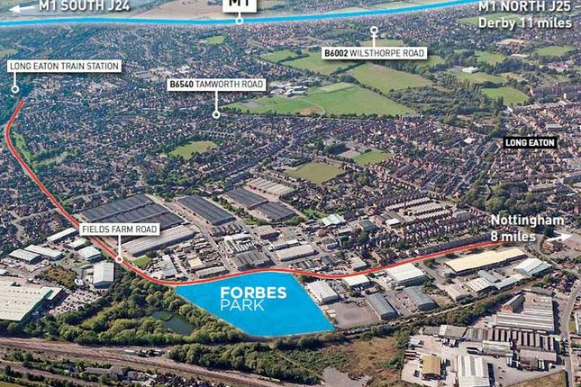 Thumbnail Light industrial for sale in Forbes Park, Fields Farm Road, Long Eaton, Nottingham